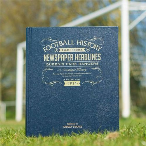 Personalised Queens Park Rangers Football Book